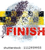 auto car finish racing line... | Shutterstock .eps vector #1112959955
