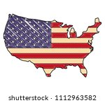 united states of america flag... | Shutterstock .eps vector #1112963582