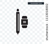 writer vector icon isolated on... | Shutterstock .eps vector #1113018002