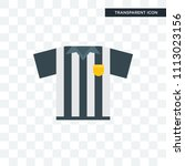 referee vector icon isolated on ... | Shutterstock .eps vector #1113023156