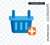 shopping basket vector icon... | Shutterstock .eps vector #1113023195