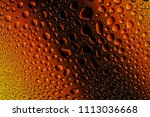 close up of a water drops on a... | Shutterstock . vector #1113036668