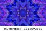 geometric design  mosaic of a... | Shutterstock .eps vector #1113093992