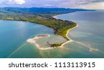 Small photo of Aerial View of Pak Weep Beach and Coconut Beach of Khao Lak, Thailand