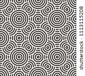 vector seamless pattern. modern ... | Shutterstock .eps vector #1113115208