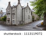 traditional scottish cottages... | Shutterstock . vector #1113119072
