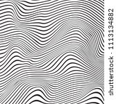 thin line pattern with... | Shutterstock .eps vector #1113134882