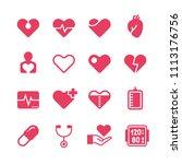 heart diagnosis and cardiac...   Shutterstock . vector #1113176756