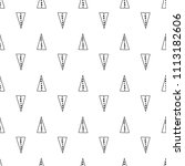 triangles. black and white... | Shutterstock .eps vector #1113182606