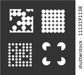 square logo templates. memphis... | Shutterstock .eps vector #1113191138