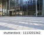 modern office building outdoors ... | Shutterstock . vector #1113201362