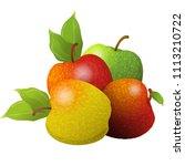 vector cartoon element for... | Shutterstock .eps vector #1113210722