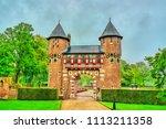 de haar castle near utrecht. a... | Shutterstock . vector #1113211358