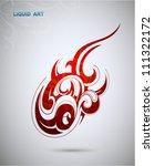 liquid art | Shutterstock .eps vector #111322172