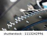metal gears are engine  gearbox ... | Shutterstock . vector #1113242996
