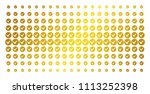 apply icon golden halftone... | Shutterstock .eps vector #1113252398