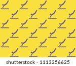 endless repeating lilac... | Shutterstock . vector #1113256625