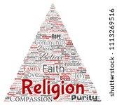 vector conceptual religion  god ...   Shutterstock .eps vector #1113269516