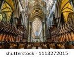 Salisbury Cathedral  Wiltshire  ...