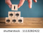 organization and team structure ... | Shutterstock . vector #1113282422