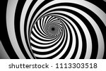 a psychedelic 3d illustration...   Shutterstock . vector #1113303518