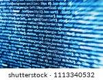 freeware open source project.... | Shutterstock . vector #1113340532