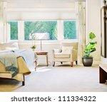 beautiful bedroom detail in... | Shutterstock . vector #111334322