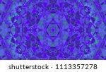 geometric design  mosaic of a... | Shutterstock .eps vector #1113357278