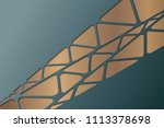 abstract geometric background.... | Shutterstock .eps vector #1113378698