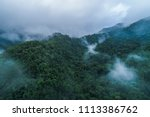 mistymayan mountains in central ... | Shutterstock . vector #1113386762