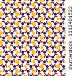 color islamic ornament pattern. ... | Shutterstock .eps vector #1113401522