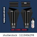 leggings pants fashion design | Shutterstock .eps vector #1113406298