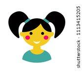 cute vector avatar of a liitle...