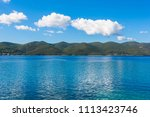 the adriatic sea in summer at...   Shutterstock . vector #1113423746