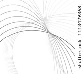 curvy abstract line wave...   Shutterstock .eps vector #1113429368