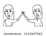 red nose design   Shutterstock .eps vector #1113447362