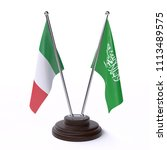 italy and saudi arabia  two... | Shutterstock . vector #1113489575