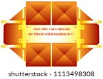 the message frame consists of... | Shutterstock .eps vector #1113498308