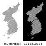 halftone circle dot north and... | Shutterstock .eps vector #1113510185