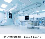 cath lab is an examination room ... | Shutterstock . vector #1113511148