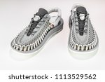 beautiful  footwear unisex  men'... | Shutterstock . vector #1113529562