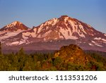 three sisters wilderness ... | Shutterstock . vector #1113531206