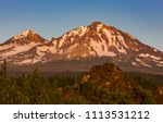 three sisters wilderness ... | Shutterstock . vector #1113531212