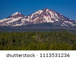 three sisters wilderness ... | Shutterstock . vector #1113531236