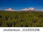 three sisters wilderness ...   Shutterstock . vector #1113531248