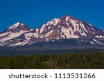 three sisters wilderness ... | Shutterstock . vector #1113531266