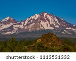 three sisters wilderness ... | Shutterstock . vector #1113531332