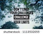 motivational and inspirational...   Shutterstock . vector #1113532055