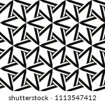 seamless pattern with symmetric ... | Shutterstock .eps vector #1113547412