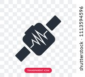 smartwatch vector icon isolated ... | Shutterstock .eps vector #1113594596